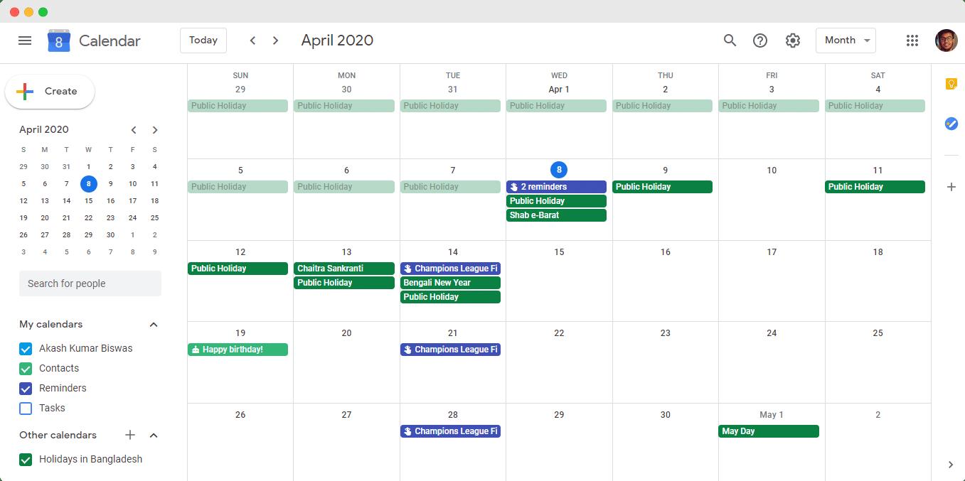 EA Event Calendar, Elementor, How to Embed Google Calendar, Google Calendar