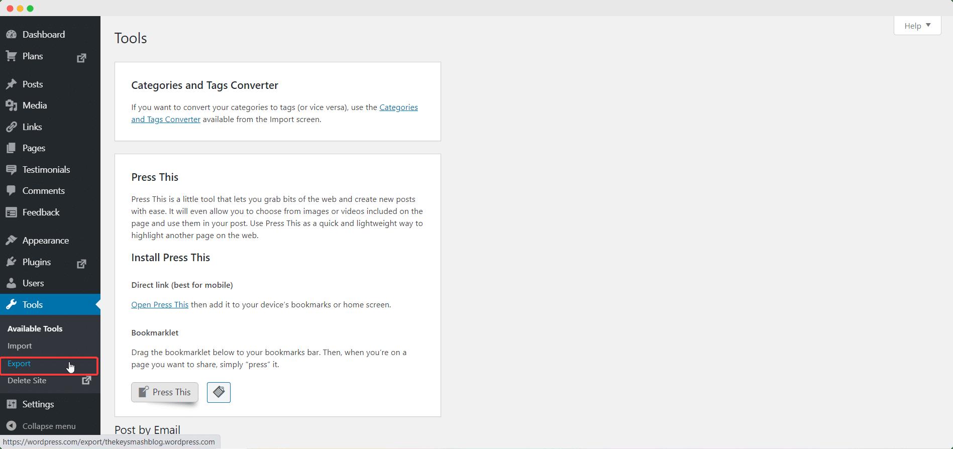 How To Delete WordPress Blog