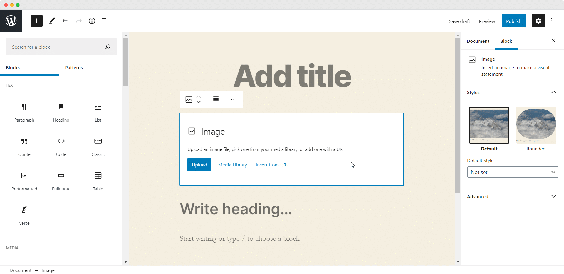 WordPress 5.5 Block Editor
