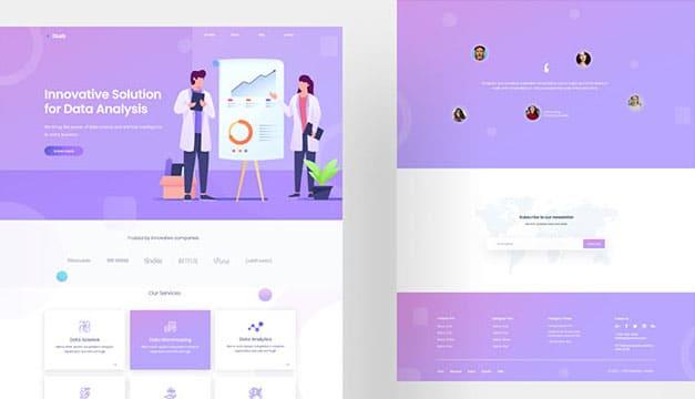 How to Create Digital Agency Website Using FREE Elementor Template 2