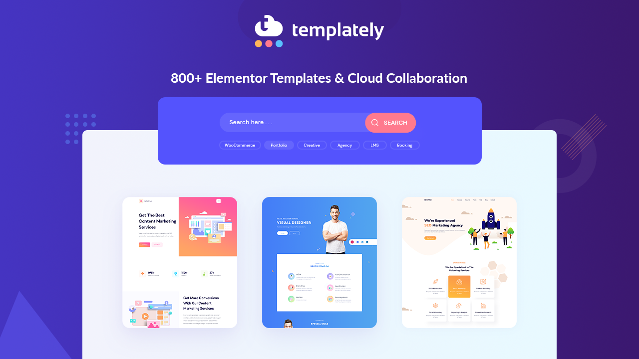 Introducing Templately The Ultimate Templates Cloud For WordPress - 1280x720
