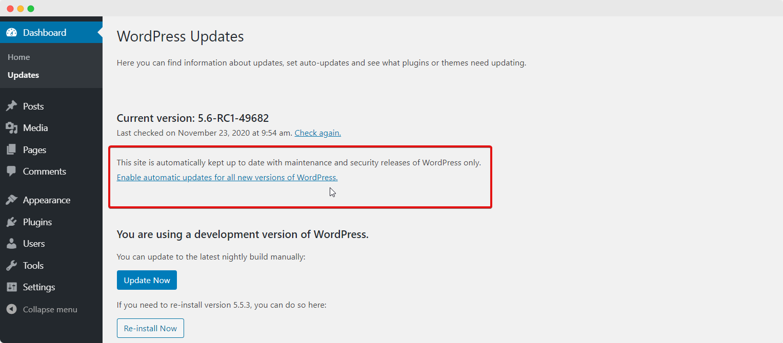 WordPress 5.6 Next Release