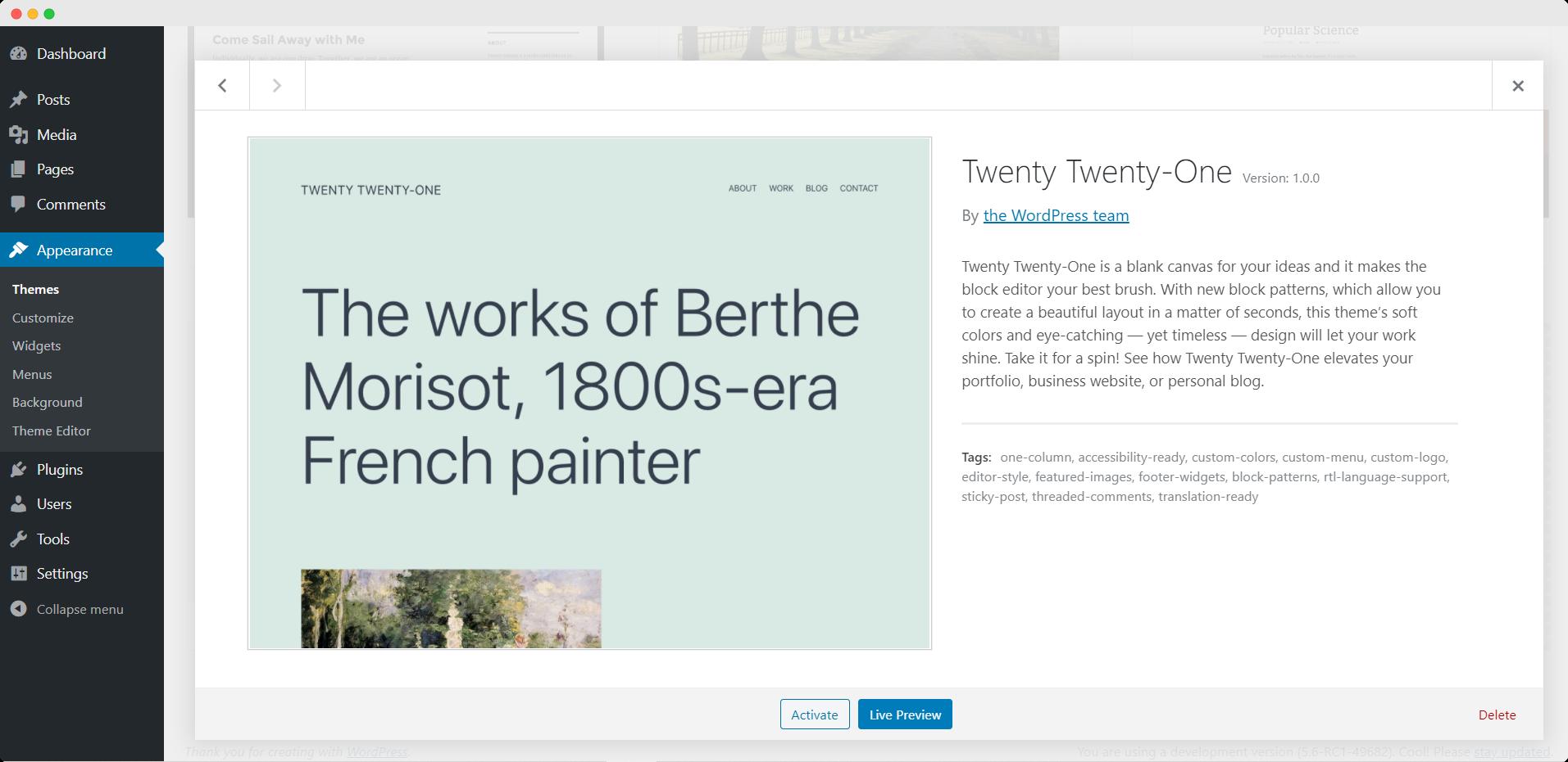 [Review] Twenty Twenty-One: New Default Theme For WordPress 1