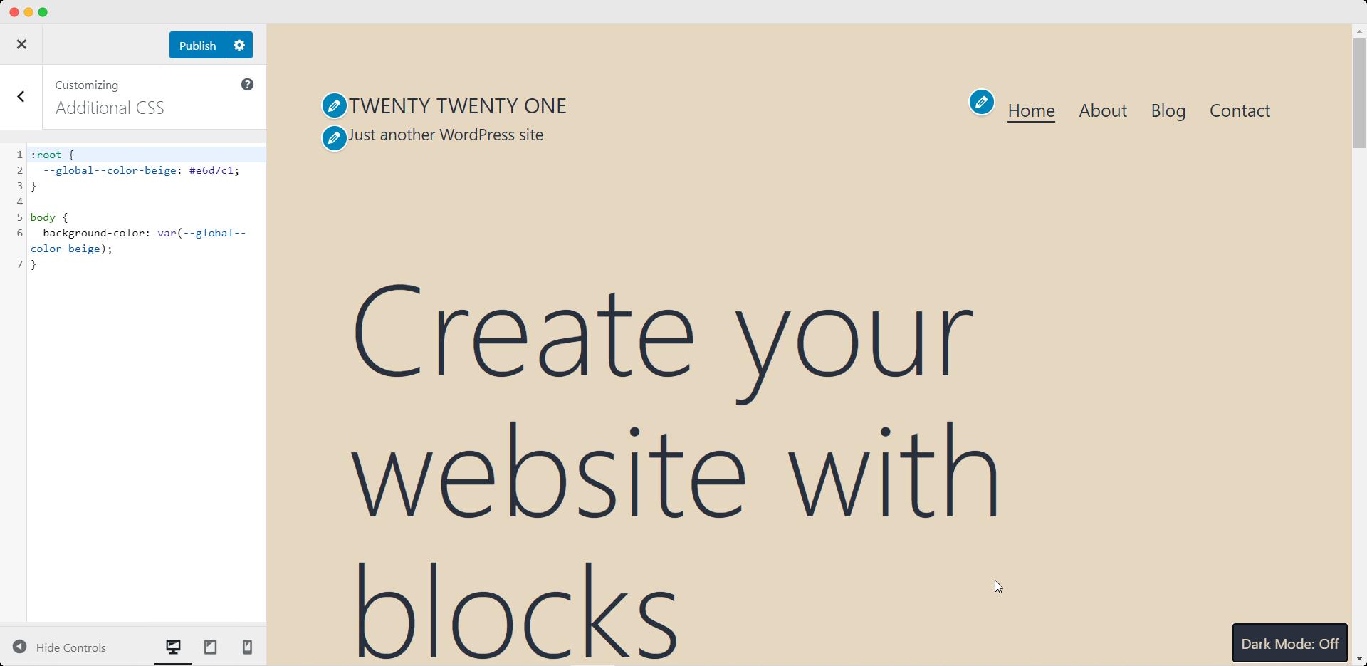 Twenty Twenty-One New Default Theme For WordPress