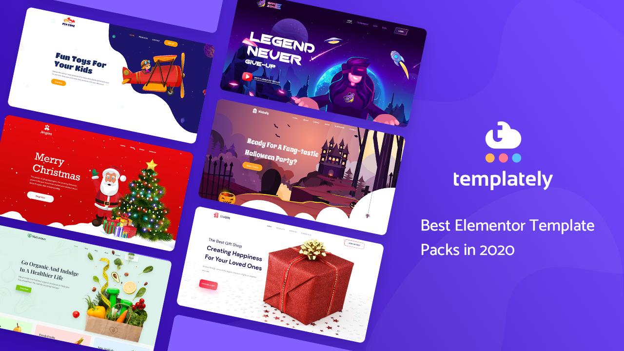 Best Elementor Template Packs In 2020