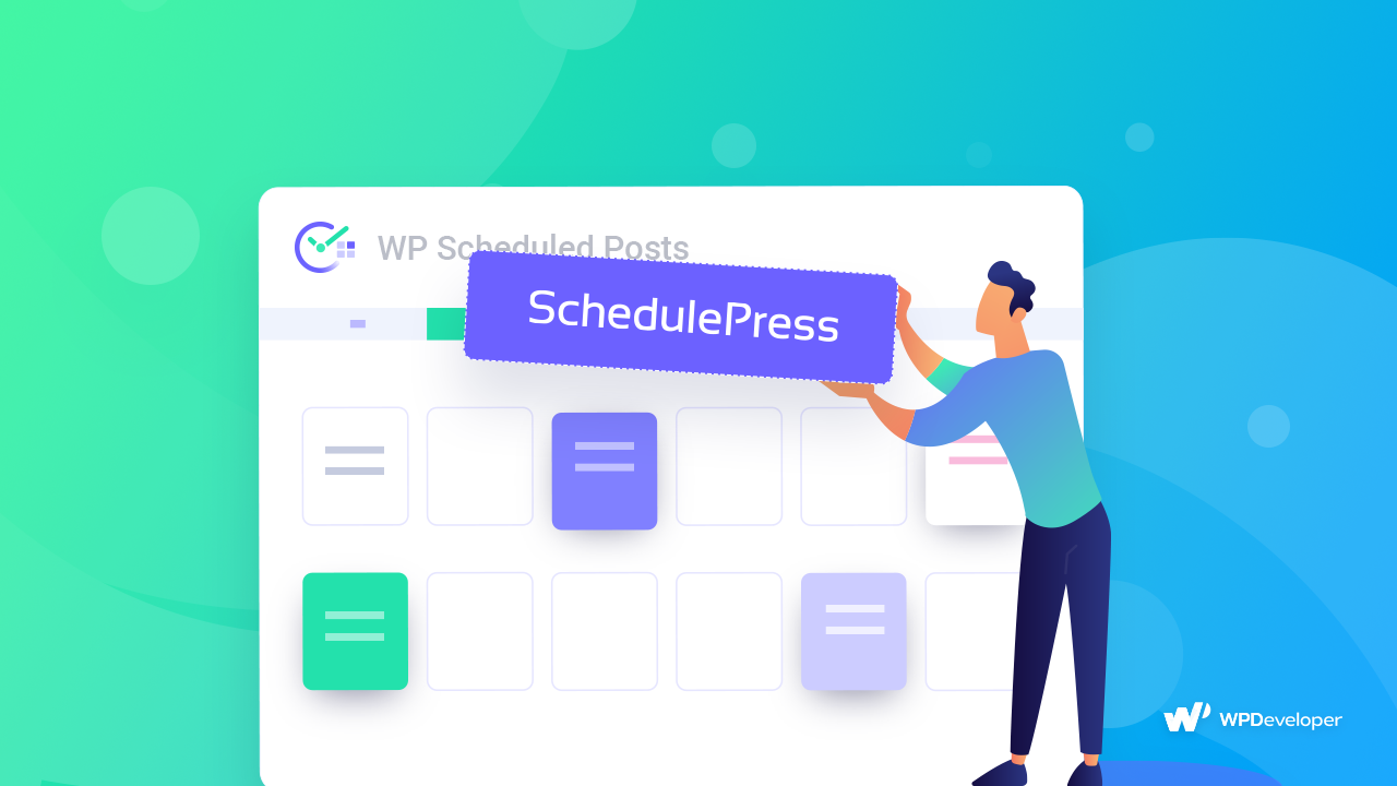WP Scheduled Posts Is SchedulePress