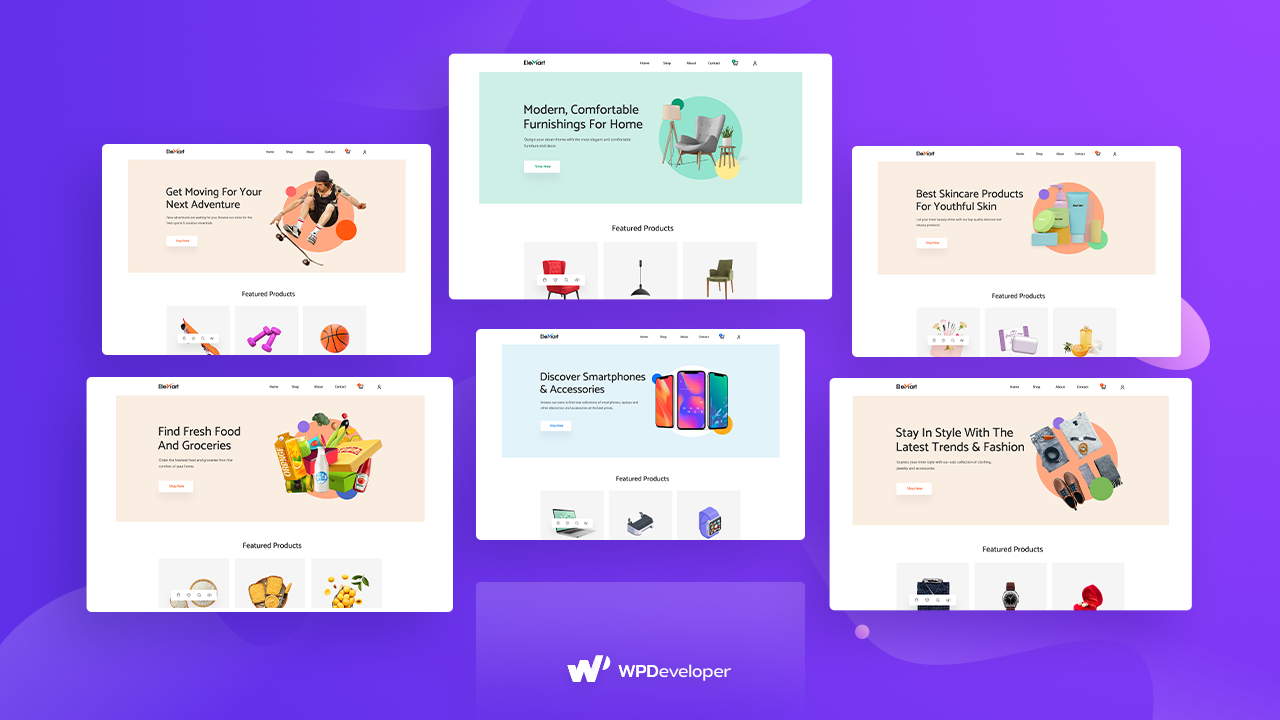 Multipurpose Themes Templates Elementor