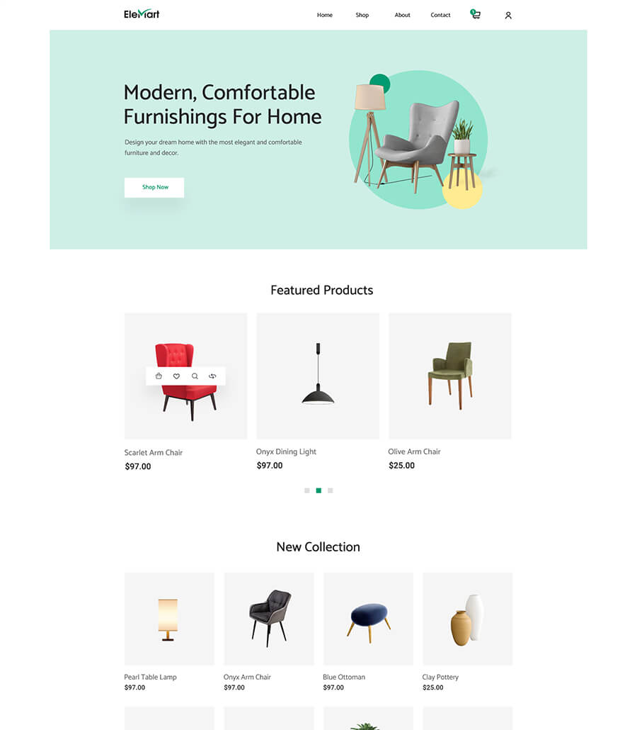 EleMart: Best Multipurpose Templates For Elementor To Build Any Website Without Coding 5