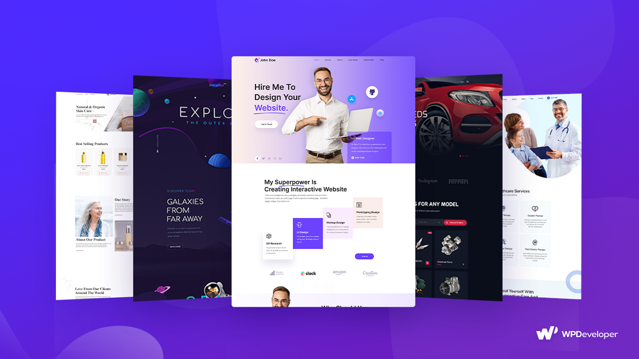 Ready Elementor Template